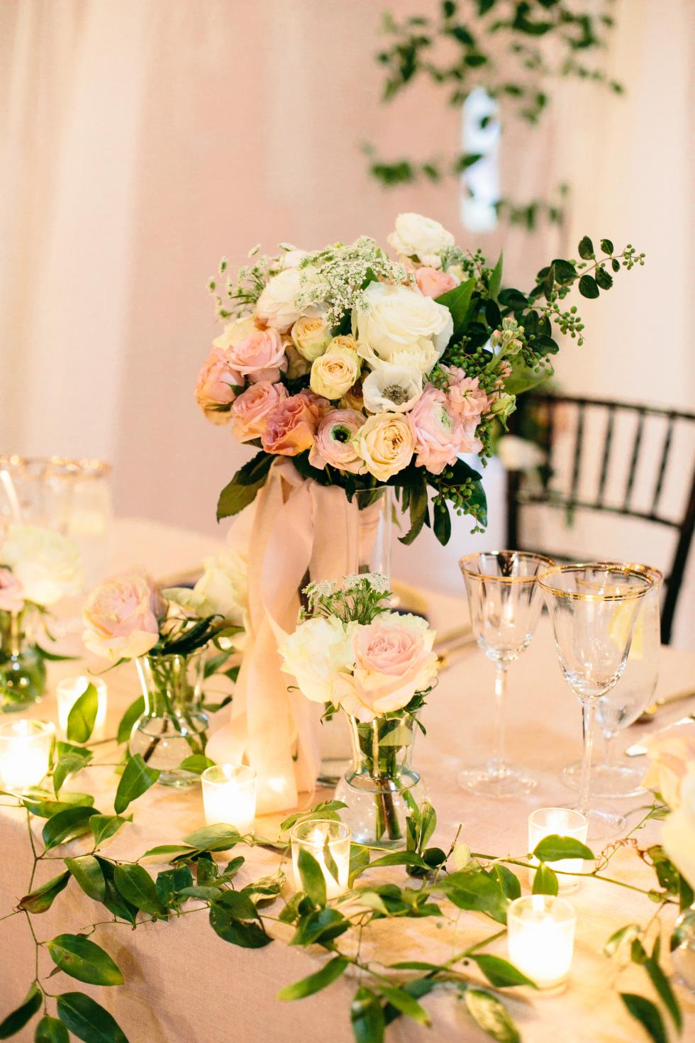 Sweetheart and Head Tables