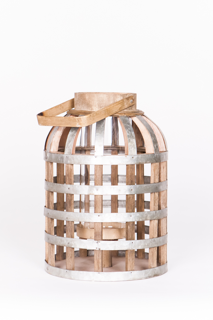 Marianne S Rentals Basket And Cage Lanterns Wood And
