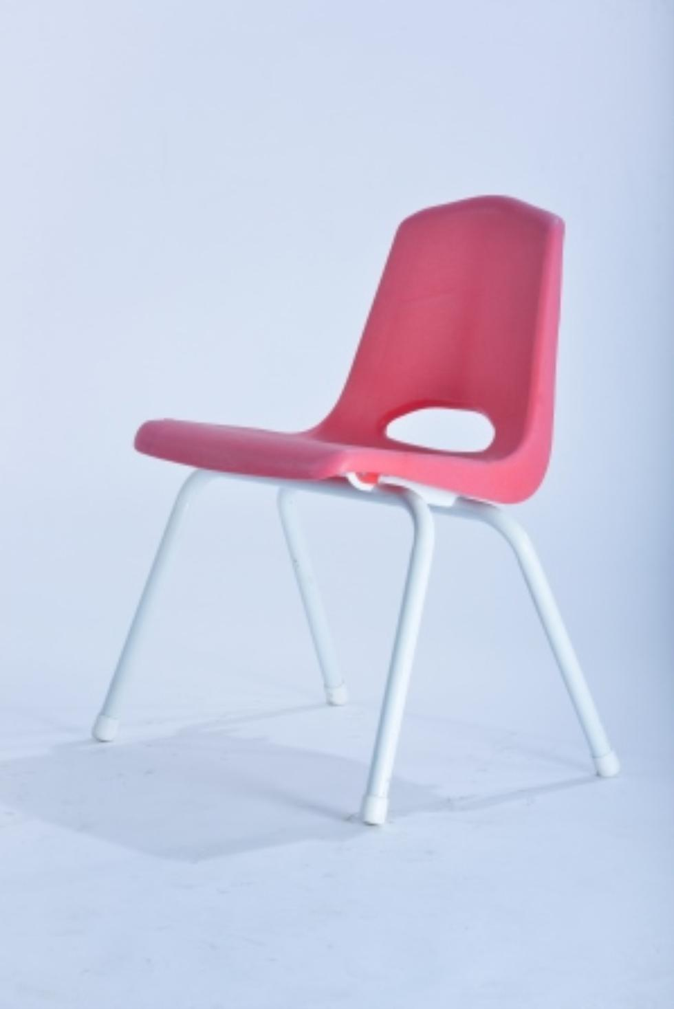 Marianne S Rentals Children S Chair With Metal Legs Red