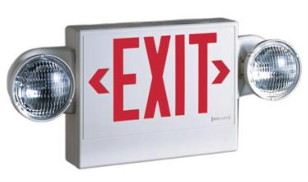 Marianne S Rentals Exit Sign With Emergency Lights Rentals