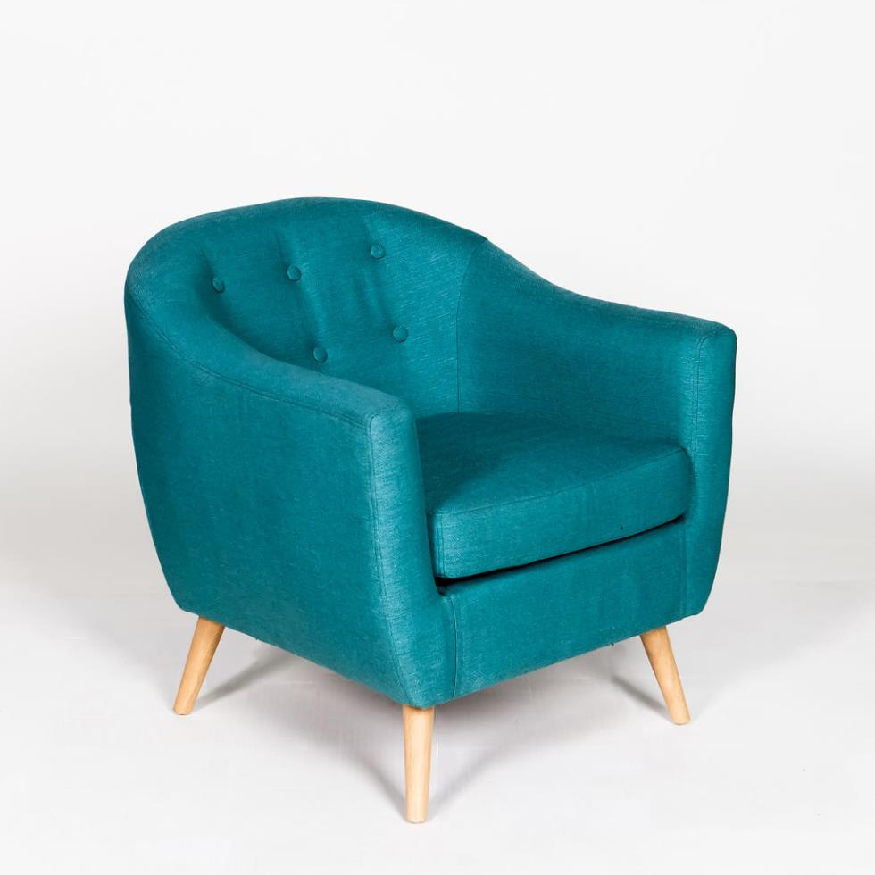 Marianne S Rentals Rockwell Club Chair Teal Rentals