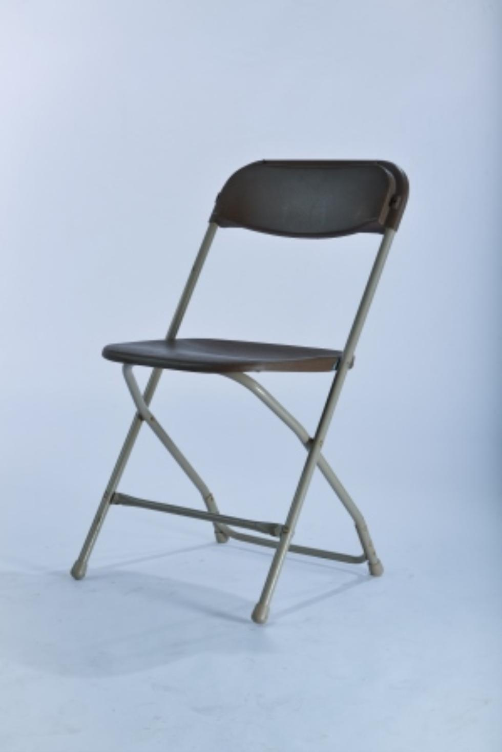 Marianne s Rentals Samsonite Folding Chair Brown Rentals