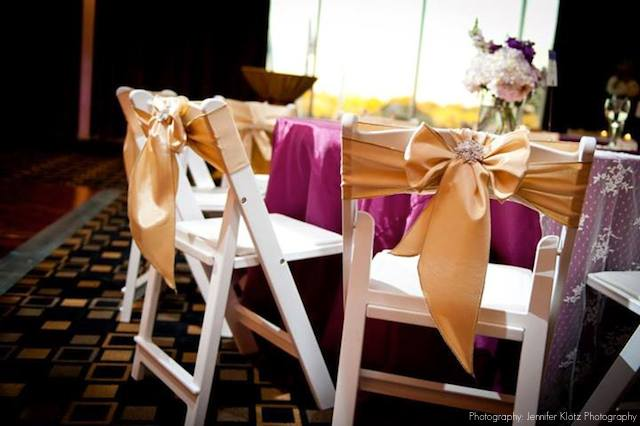 Chair Ties Are A Great Way To Incorporate Your Wedding Colors Into The  Smallest Of Details. There Are Tons Of Different Variations Of Bows And  Brooches, ...